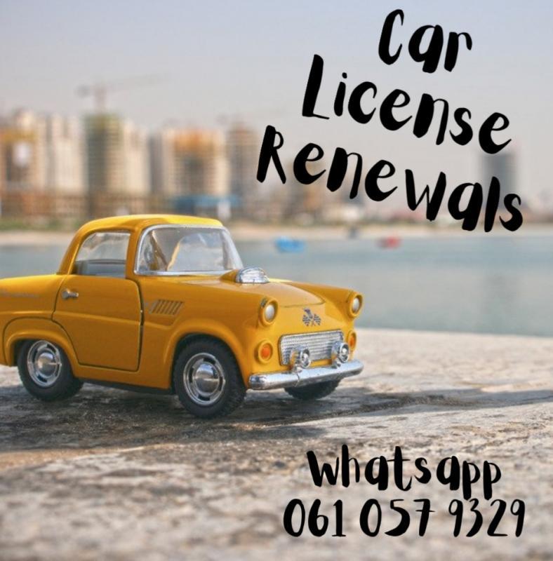 UH Car License Renewals